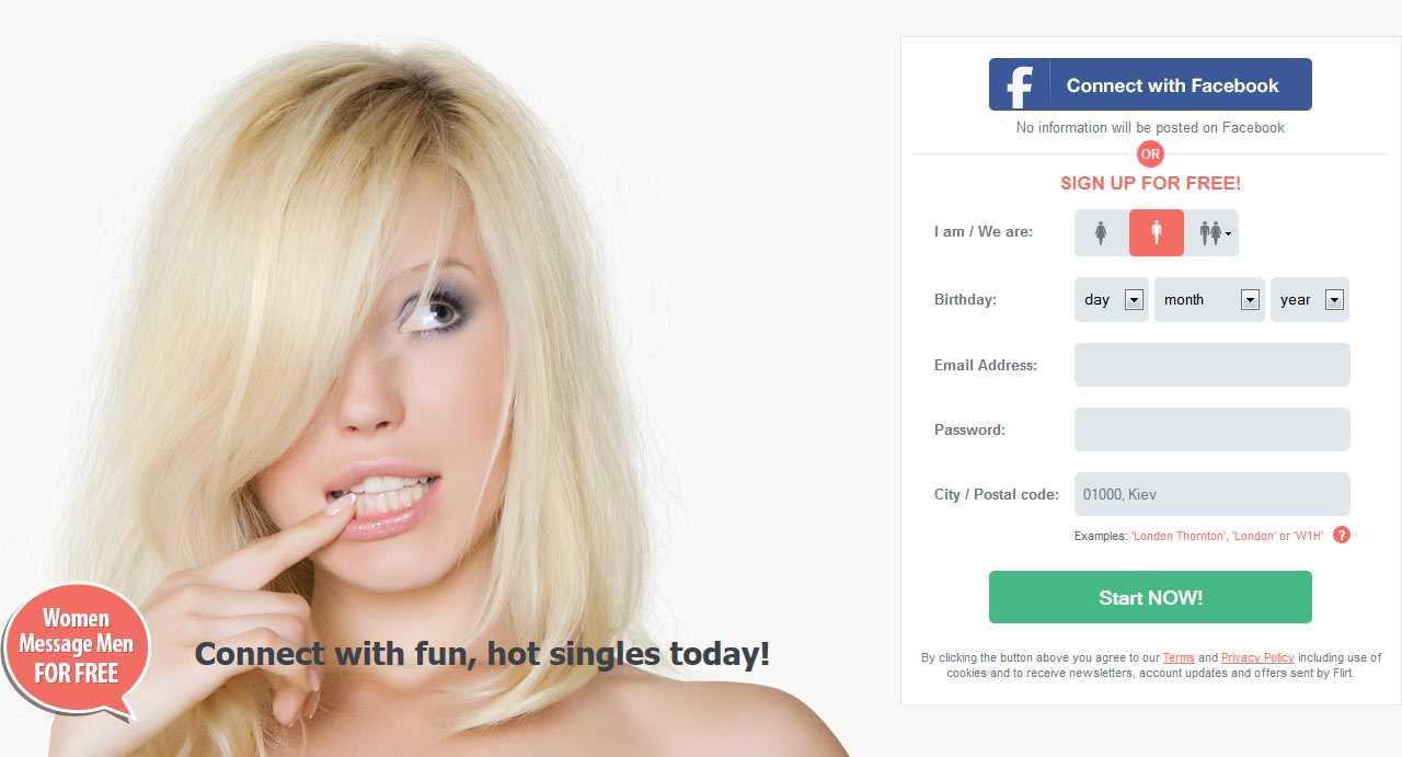 Flirt.com screen1