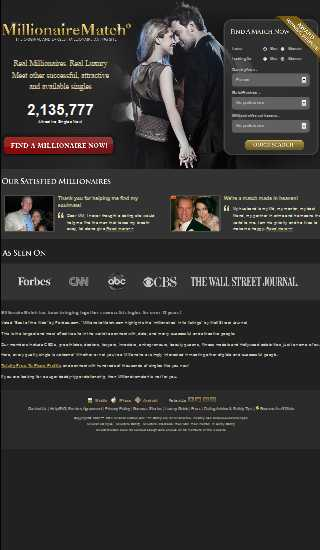 Free millionaire dating site in usa