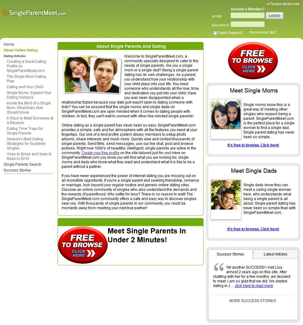 parent dating websites The parent dating club blog aims to bring to users of the wwwparentdatingclubcom website the latest in thinking, comment and experiences for dating we will also share latest developments from the online dating sector and how that affects our members in their search for romance, friendship and connections.