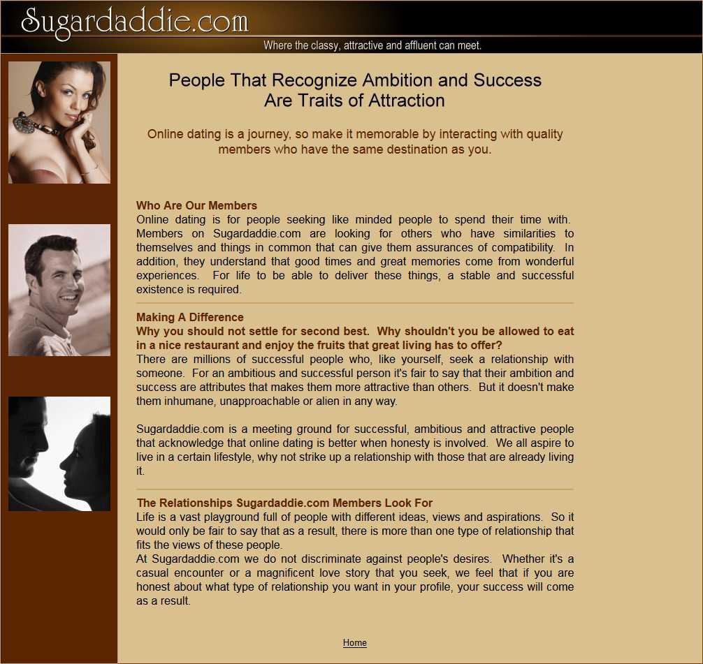Sugardaddie.com screen3