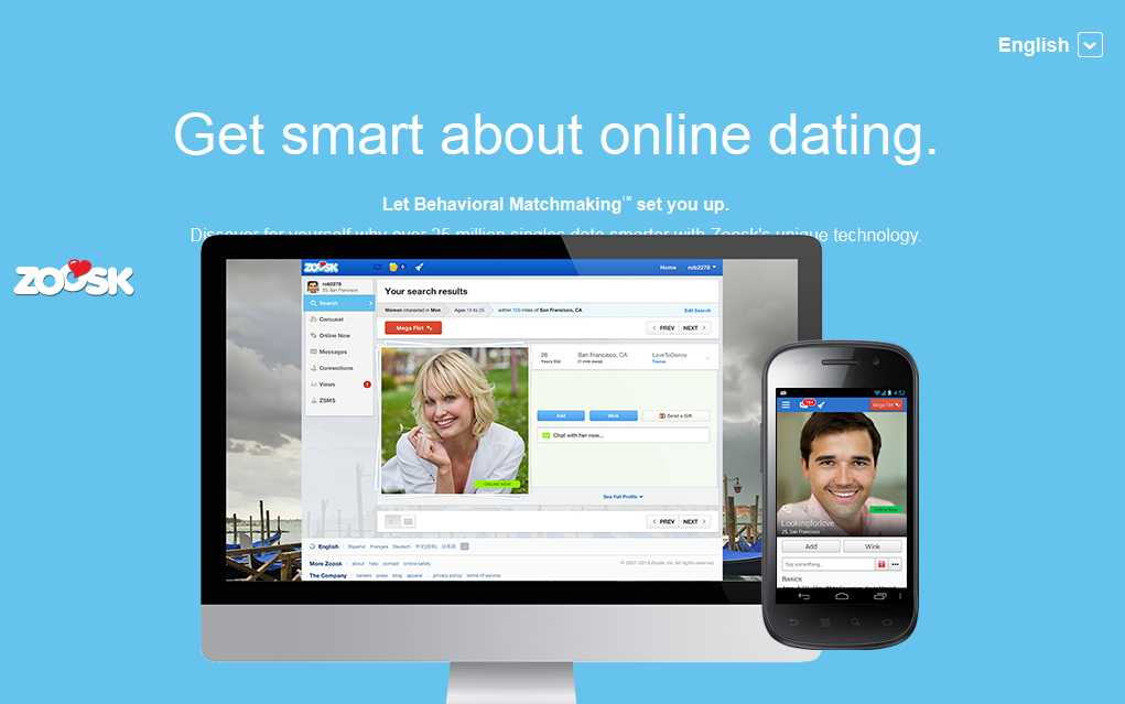 online dating site zoosk Zoosk is an online dating service available in 25 languages and in more than 80 countries the founders of the company are shayan zadeh and alex mehr, who.