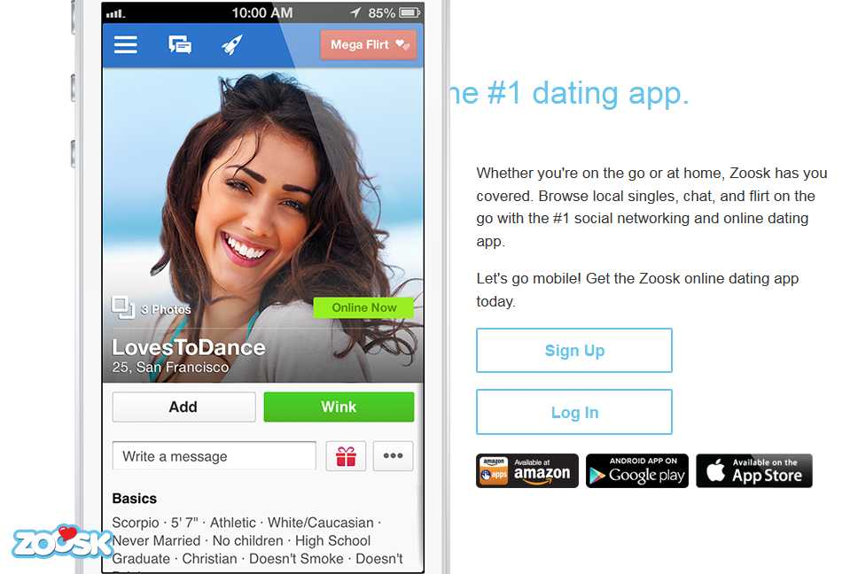 Dating website hosting