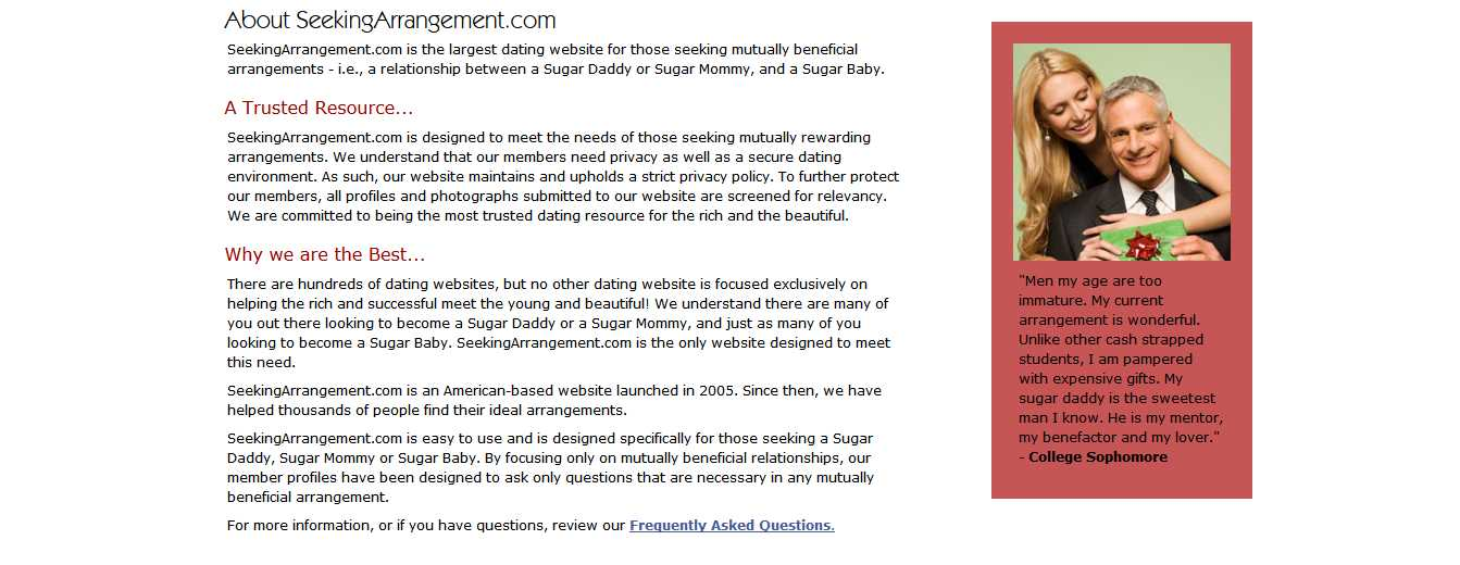 seeking arrangements profile Seekingarrangement : prices: 1 month $5995 create photo profile: seeking arrangement is crap.